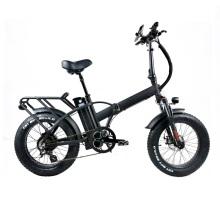 Fat folding bike 48v 500w motor electric bicycle