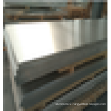 customized 5082 O wide aluminum sheet for track transportation use