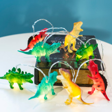 LED Dinosaur Fairy Lights, Battery Power Indoor Decorative Lights, Super Fun Dinosaur Lights for Party,Bedroom