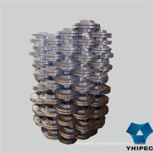 Flange de 150lbs de pescoço de solda de aço carbono forjado