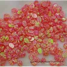 Rosa criado opala para configuração de joias