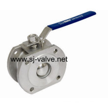 Q71f Stainless Steel Wafer Ball Valve