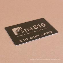 Kundenspezifische Druck klar laminiert Business Shopping Plastikkarte
