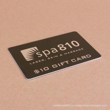 Изготовленное на заказ печатание ясное прокатанное бизнес магазины пластиковой карты