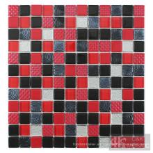 Azulejo mosaico de diseñador vendedor caliente de color rojo
