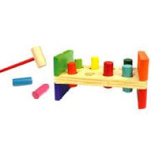 Wooden Hammer Pounding Bench Toys