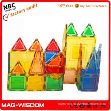 Plastic Magnetic Building blocks toys educational toys 2015