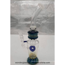 Various Designs Popular Glass Recycler Glass Water Smoking Pipe