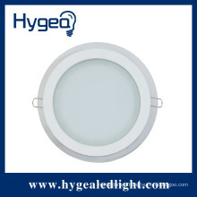 China wholesale price Customized size glass ultra-thin led recessed ceiling panel light