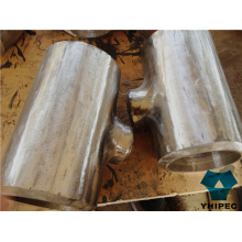 T de encaixe de tubos de aço inoxidável sem costura Bw