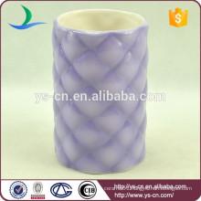 YSb50053-01-t spray decoration ceramic bath tumbler products