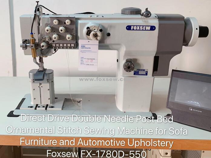 Computerized Post Bed Ornamental Stitch Sewing Machine Fx 1780d 550 00