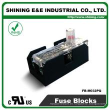 FB-M032PQ Igual a Bussmann 600V 30 Amp 2 Póles 10x38 Midget Fuse Box