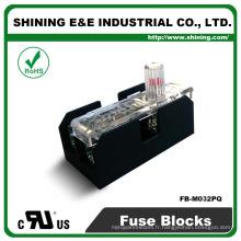 FB-M032PQ Equal To Bussmann 600V 30 Amp 2 Pole 10x38 Midget Fuse Box