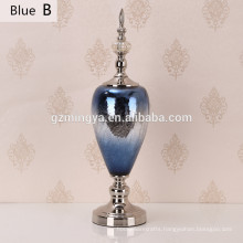 Home decorated bottle lamp modern blue shinning office decoration luxury home decoration