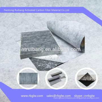 Filtro De Papel De Carvão Ativado De Bambu