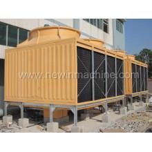 Torre de refrigeração de vidro quadrado de vidro de alta eficiência (NST-800H / M)