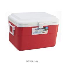 Refrigerador plástico portátil de 42L, caixa do refrigerador do carro, refrigerador da lata de cerveja