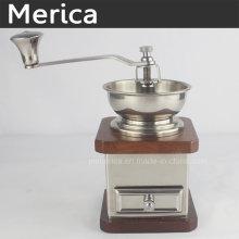 Amoladora manual de acero inoxidable con rebabas de cerámica ajustable