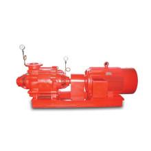 Bomba de combate a incêndio de secção única multi-estágio de sucção única