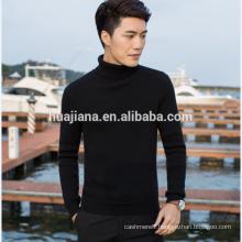 2016 winter man's cashmere turtleneck sweater