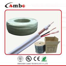 coaxial cable RG59 siamese copper clad aluminum 50 ohm 75ohm