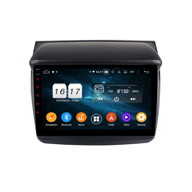 Mitsubishi L200 Car Dvd Gps Player
