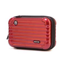 cosmetic colorful printed travel waterproof tampon case Bag plastic women