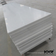 pure acrylic solid surface/white crystallite stone/thin faux stone slabs