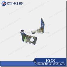 Placa de bloqueo de tuerca de ajuste Pickup / Coach genuino HS-C6