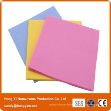 Non-Woven Fabric Cleaning Cloth, Viscose and Polyester Fabric Needle Punched Cloth