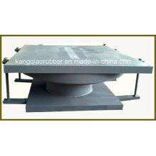 Rolamento de ponte de aço fixo esférico Qz (fabricado na China)