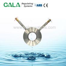 Eau pour plaque de mesure de pression pour vanne d'équilibrage automatique