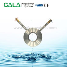 Water for pressure measuring plate for automatic balancing valve