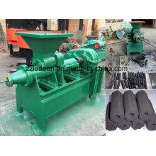 Chaîne de production de machine de briquette creuse de charbon de bois et de charbon utilisé par four