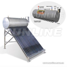 Chauffe-eau solaire à la bobine de cuivre (CHAUFFE-EAU SOLAIRE, ISO9001, KEYMARK SOLAIRE, CE, SRCC) Piscine