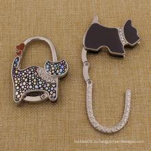 Поощрение подарки Пользовательские собака Shaped кошелек Крюк для дам