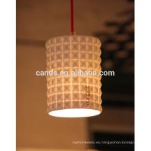 Lámpara de cerámica de calidad superior Luz de techo colgante