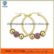 Shineme Jewelry Fashion Women Gold Plating Earring (ERS7012)