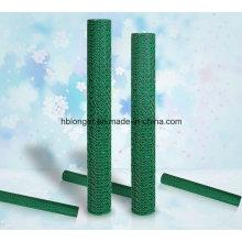 PVC recubierto de malla de alambre Hexagonal