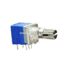 Potenciómetro de volumen de empuje de eje dividido WH9011AK-1