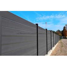 Co-Extrusion WPC Fence for Garden Outdoor Wood Composite Fence Water Proof Wooden Fence
