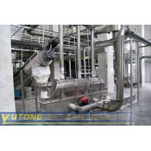 Secador vibratorio de lecho fluidizado para la industria farmacéutica