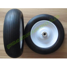 solid wheel ,pu foam tire