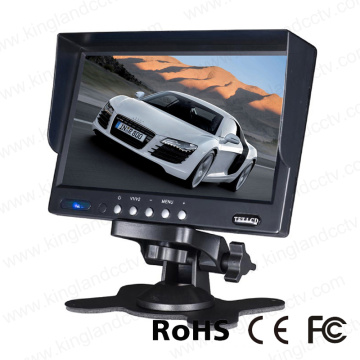 7 pulgadas Stand Alone TFT LCD Car Rear View Monitor