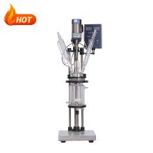 Mini Industrial Plug Flow Chemical Glass Reactor 1L