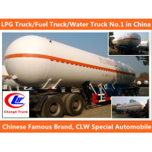 Clw 8*4 LPG Gas Filling Truck