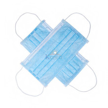 3 Ply Medical Disposable Earloop Pleated Surgical Mask