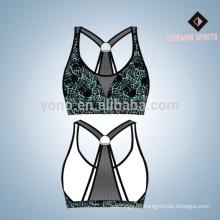 Fashional ladies Compression wear cómodo sujetador de yoga