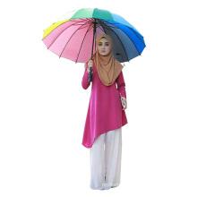 China manufacturer arabic wear long sleeve printed muslim Blouse,Singapore fashion Islamic Blouse Muslim cotton women Blouse